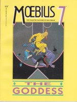 Moebius 7: The Collected Fantasies of Jean Giraud: The Goddessby: Moebius (Jean Giraud) - Product Image
