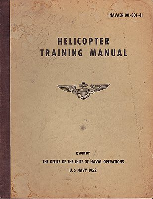 NAVAER 00-80T-41 - Helicopter Training ManualN/A - Product Image