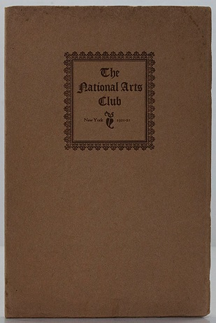 National Arts Club 1921-1922N/A - Product Image
