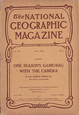 National Geographic Magazine  - June 1908  Vol. XIX  No. 6National Geographic Society - Product Image