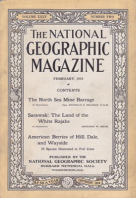 National Geographic Magazine  - Vol. XXXV No. 2 March 1919National Geographic Society - Product Image