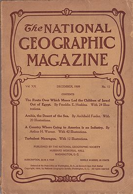 National Geographic Magazine - December 1909 Vol. XX  No. 12National Geographic Society - Product Image