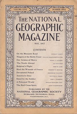 National Geographic Magazine - Vol. XXXI  No. 5 May 1917National Geographic Society - Product Image