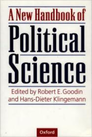 New Handbook of Political Science, A by: Goodin, Robert E. (Editor) - Product Image