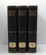 North Dakota Historical Quarterly (6 vols in 3 books)by- N.A. - Product Image