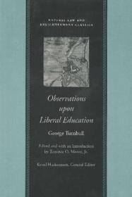 OBSERVATIONS UPON LIBERAL EDUCATIONby: TURNBULL, GEORGE - Product Image