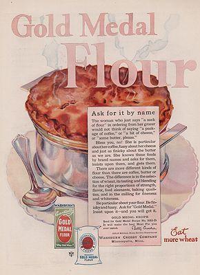 ORIG VINTAGE 1920s GOLD MEDAL FLOUR ADillustrator- N/A - Product Image