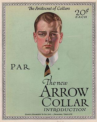 ORIG VINTAGE 1922 ARROW SHIRT ADillustrator- N/A - Product Image