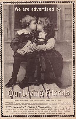 ORIG. VINTAGE MAGAZINE AD: 1894 MELLIN'S FOOD ADillustrator- N/A - Product Image