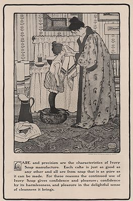 """<p class=""""ttl"""">ORIG VINTAGE MAGAZINE AD/ 1901 IVORY SOAP AD<p><span class=""""by"""">illustrator-</span> <span class=""""athr"""">Jessie Wilcox  Smith</span>"""