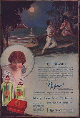 ORIG VINTAGE MAGAZINE AD/ 1917 RIGAUD PERFUME ADillustrator- N/A - Product Image