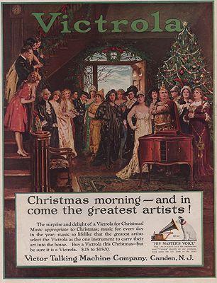 ORIG VINTAGE MAGAZINE AD/ 1920s VICTROLA ADillustrator- N/A - Product Image