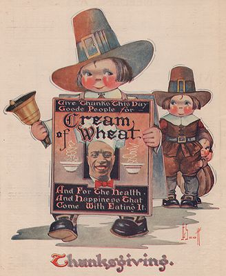 ORIG. VINTAGE MAGAZINE AD: 1923 CREAM OF WHEAT CEREAL ADillustrator- J.G.  Scott - Product Image