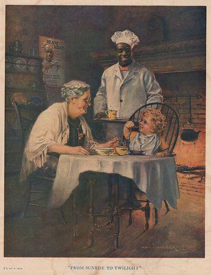 ORIG. VINTAGE MAGAZINE AD: 1924 CREAM OF WHEAT ADillustrator- Edward  Brewer - Product Image