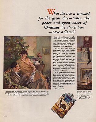 ORIG VINTAGE MAGAZINE AD/ 1926 CAMEL CIGARETTES ADillustrator- N/A - Product Image