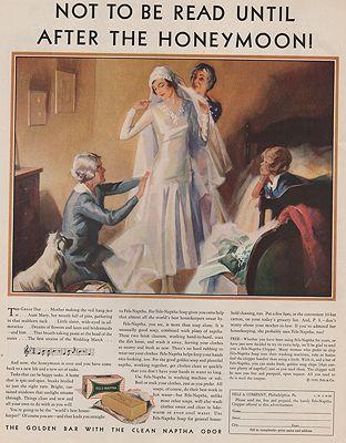 ORIG VINTAGE MAGAZINE AD/ 1930 FELS NAPTHA SOAP ADillustrator- N/A - Product Image