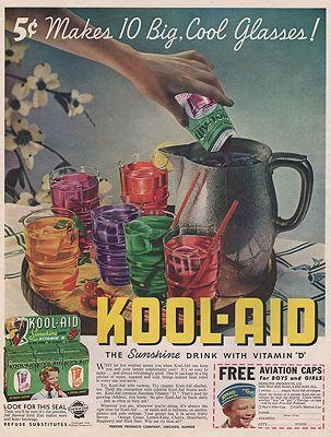 ORIG VINTAGE MAGAZINE AD/ 1938 KOOL-AID ADillustrator- N/A - Product Image