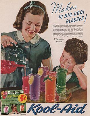 ORIG VINTAGE MAGAZINE AD/ 1939 KOOL-AID ADillustrator- N/A - Product Image