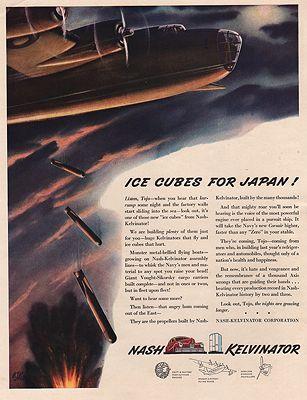 ORIG VINTAGE MAGAZINE AD/ 1942 NASH KELVINATOR ADillustrator- N/A - Product Image