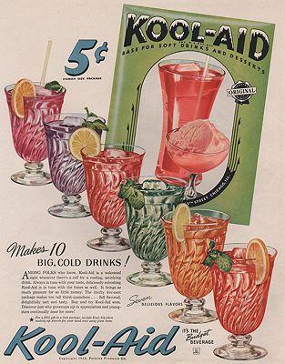 ORIG VINTAGE MAGAZINE AD/ 1944 KOOL-AID ADillustrator- N/A - Product Image