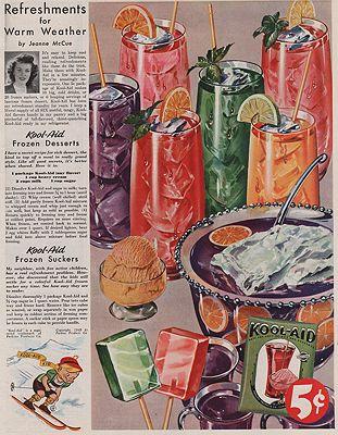 ORIG VINTAGE MAGAZINE AD/ 1949 KOOL-AID ADillustrator- N/A - Product Image
