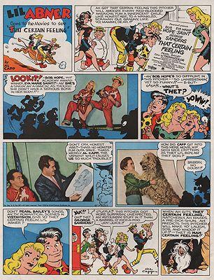 ORIG VINTAGE MAGAZINE AD/ 1956 PARAMOUNT MOVIE ADillustrator- Al  Capp - Product Image
