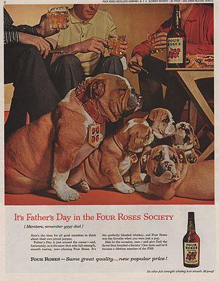 ORIG VINTAGE MAGAZINE AD/ 1959 FOUR ROSES WHISKEY ADillustrator- N/A - Product Image