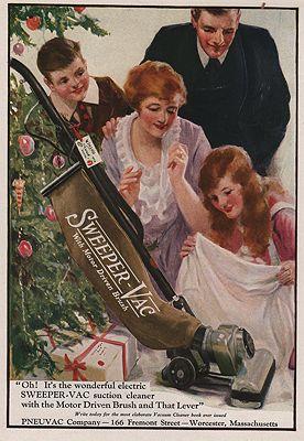 ORIG VINTAGE MAGAZINE AD/1920 SWEEPER-VAC ADillustrator- N/A - Product Image