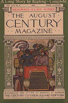 ORIG VINTAGE MAGAZINE COVER/ CENTURY MAGAZINE - AUGUST 1905illustrator- N/A - Product Image