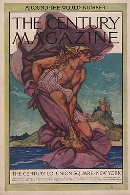 ORIG VINTAGE MAGAZINE COVER/ CENTURY MAGAZINE - NOVEMBER 1911illustrator- Garth   Jones - Product Image