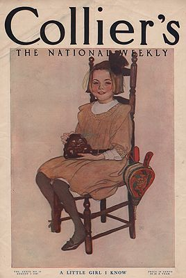 ORIG VINTAGE MAGAZINE COVER/ COLLIER'S - AUGUST 3 1907illustrator- N/A - Product Image