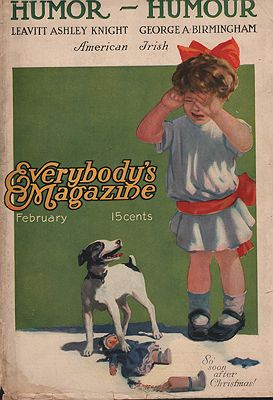 ORIG VINTAGE MAGAZINE COVER/ EVERYBODY'S MAGAZINE  FEBRUARY 1900sillustrator- N/A - Product Image