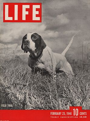 ORIG VINTAGE MAGAZINE COVER/ LIFE - FEBRUARY 25 1946illustrator- N/A - Product Image