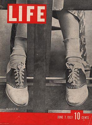 ORIG. VINTAGE MAGAZINE COVER/ LIFE - JUNE 7 1937illustrator- N/A - Product Image