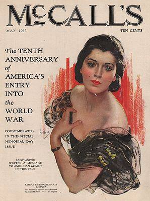 ORIG VINTAGE MAGAZINE COVER/ McCALL'S MAY 1927illustrator- N/A - Product Image