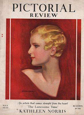 ORIG VINTAGE MAGAZINE COVER/ PICTORIAL REVIEW - MAY 1930illustrator- N/A - Product Image