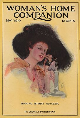 ORIG VINTAGE MAGAZINE COVER/ WOMAN'S HOME COMPANION - MAY 1910illustrator- N/A - Product Image
