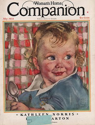 ORIG VINTAGE MAGAZINE COVER/ WOMAN'S HOME COMPANION - MAY 1932illustrator- Maud Tousey  Fangel - Product Image