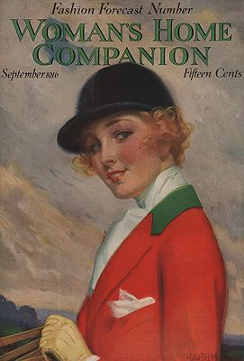 ORIG VINTAGE MAGAZINE COVER/ WOMAN'S HOME COMPANION - SEPTEMBER 1916illustrator- George  Brehm - Product Image