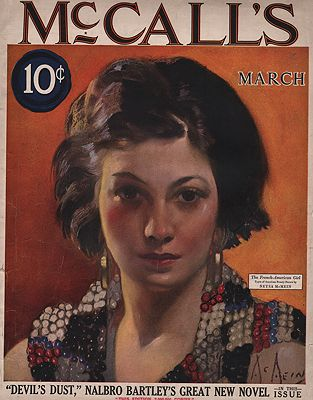 ORIG VINTAGE MAGAZINE COVER/McCALL'S - MARCH 1924illustrator- Neysa  McMein - Product Image