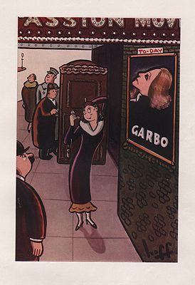 ORIG VINTAGE MAGAZINE ILLUSTRATION/ ESQUIRE MAY 1934illustrator- Syd  Hoff - Product Image