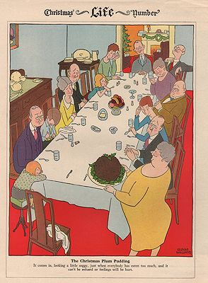 ORIG VINTAGE MAGAZINE ILLUSTRATION/ LIFE MAGAZINE DECEMBER 1927illustrator- Syd  Hoff - Product Image