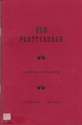 Old PlattsburghPorter, Marjorie Lansing - Product Image