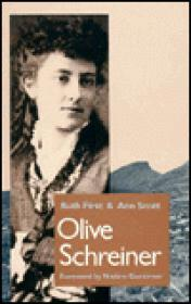 Olive Schreiner: A BiographyFirst, Ruth and Ann Scott - Product Image