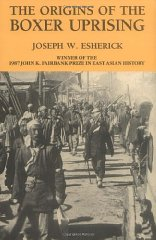 Origins of the Boxer Uprising, The by: Esherick, Joseph W. - Product Image