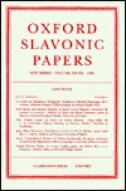 Oxford Slavonic Papers - New Series Vol XVIIIFennell, J.L.I. and I.P. Foote and G.C. Stone (Ed.) - Product Image