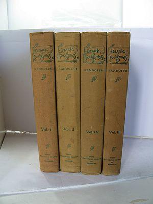 Ozark Folksongs - Four VolumesRandolph, Vance/Floyd C. Shoemaker/Frances G. Emberson - Product Image