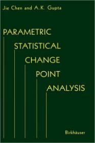 Parametric Statistical Change Point AnalysisChen, Jie & A.K. Gupta - Product Image