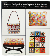 Pattern Design for Needlepoint & Patchwork, Including over 100 Ready-to-work Designsby: Schoenfeld, Susan  - Product Image