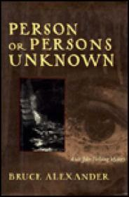 Person or Persons Unknownby: Alexander, Bruce - Product Image